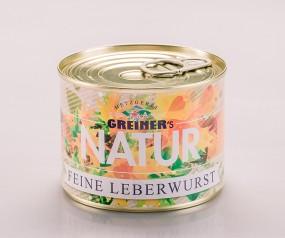 Greiner's Natur feine Leberwurst