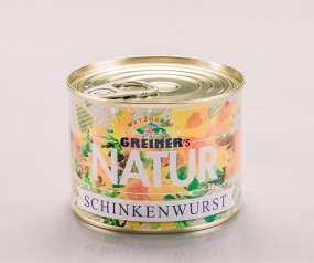 Greiner's Natur Schinkenwurst